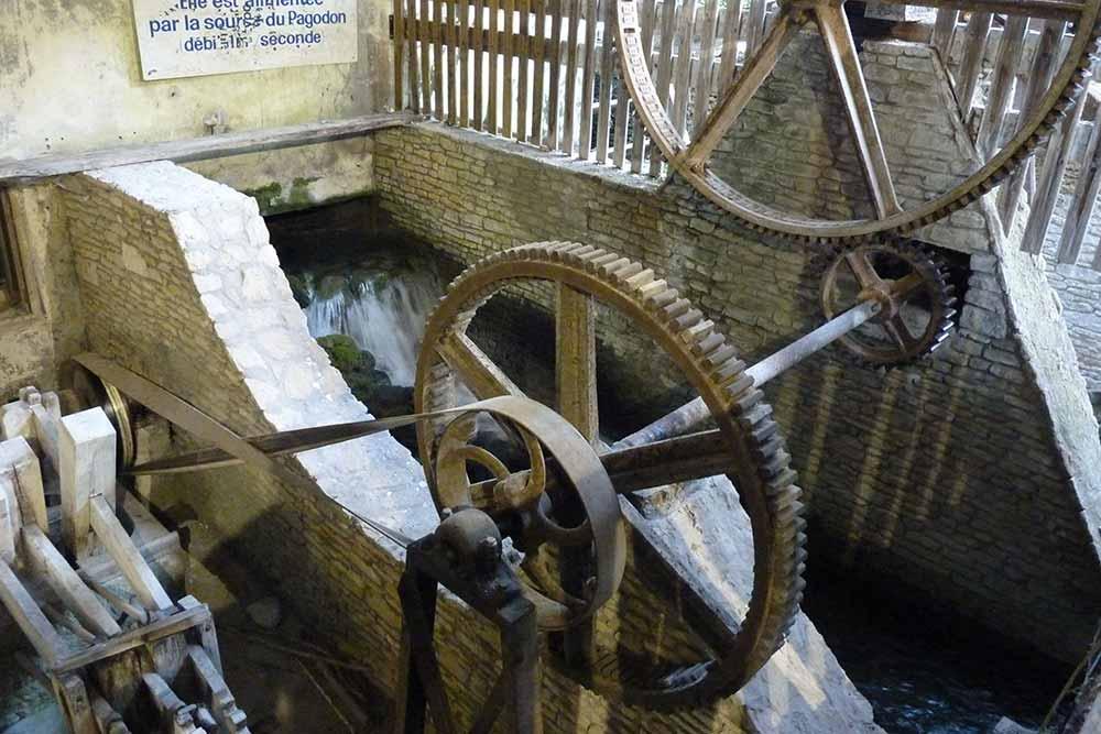 Roues du Moulin Vallis Clausa