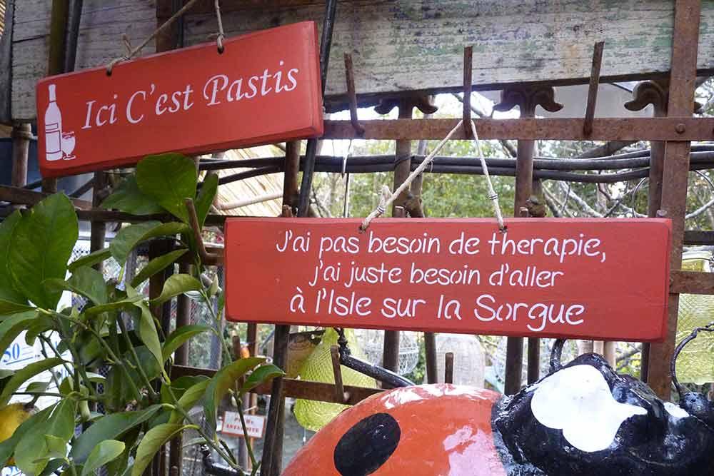 L'Isle-sur-la-Sorgue - un havre de paix et de culture