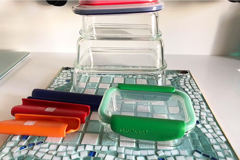 Stor'eat : des rangements qui vont au réfrigérateur, au congélateur et au micro-onde
