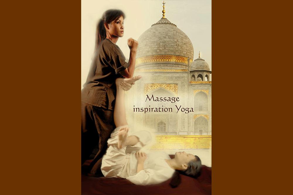 Yoga massage - un soin de La Sultane de Saba