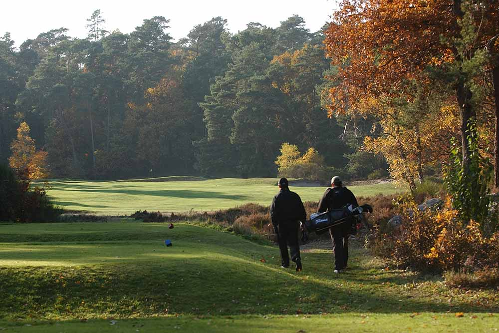 Golf, un sport bon pour la santé et le mental.