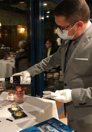 Un bon vin est toujours le bienvenu pour accompagner les premiers plats