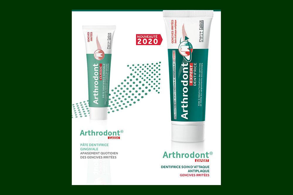 Arthrodont - la gamme de soin pour les gencives