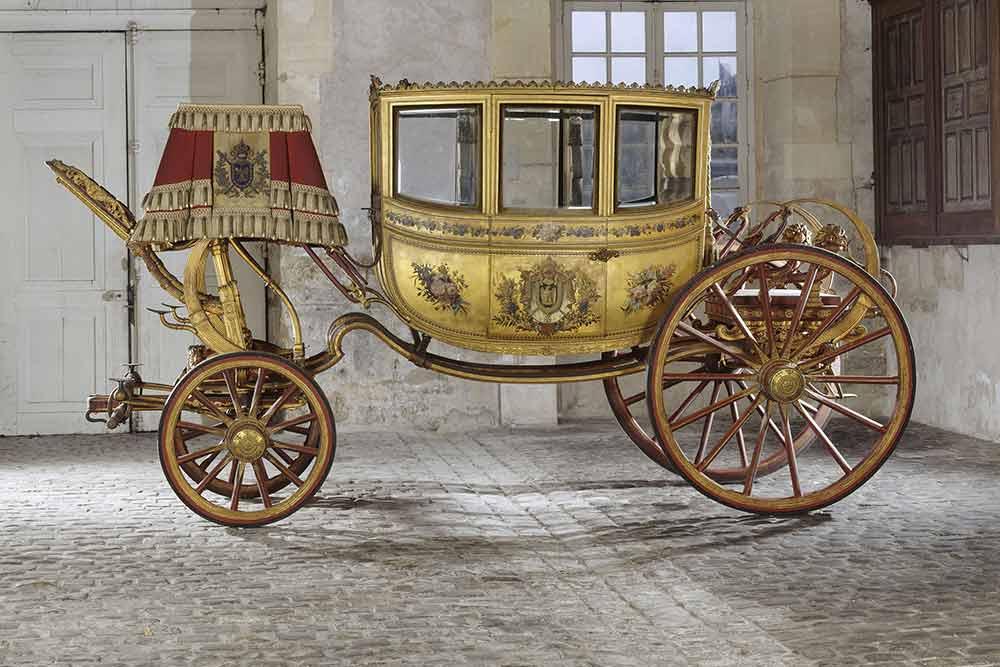 Berline du mariage de Napoléon et Marie-Louise,château de Versailles