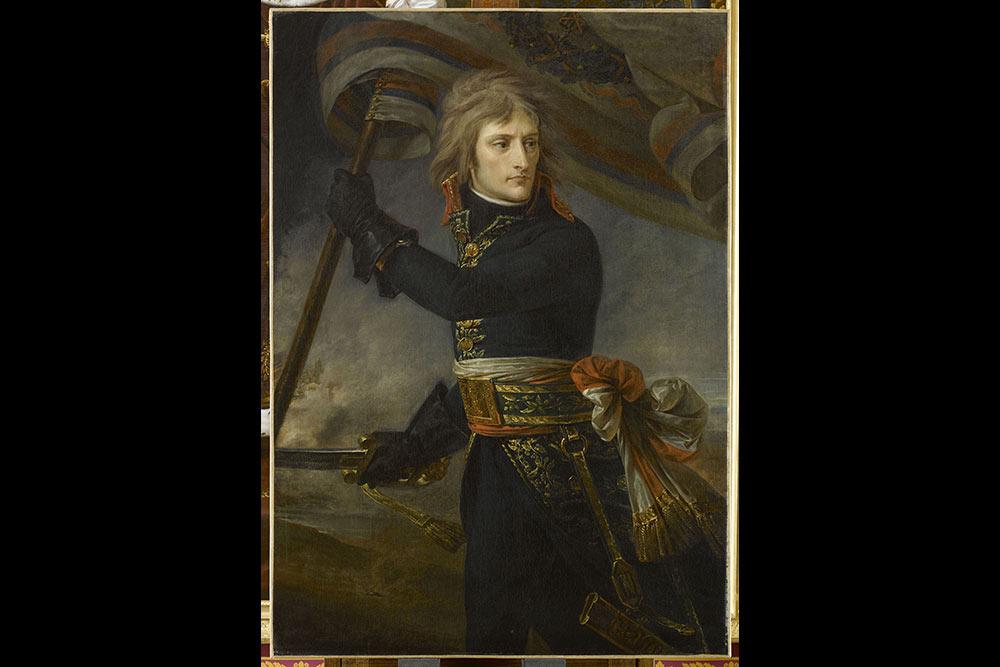 A-J. Gros, Bonaparte au pont d'Arcole,musée du Louvre,©Rmn-Grand Palais/Franck Raux.