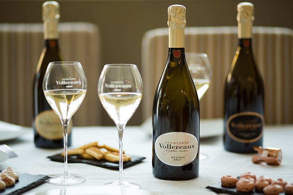 Champagne Vollereaux : un champagne succulent