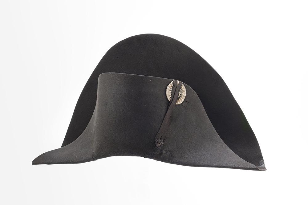 Chapeau de l'empereur, dit de la campagne de Russie, 1804-1811 ©Paris, Musée de l'Armée/Christophe Chavan