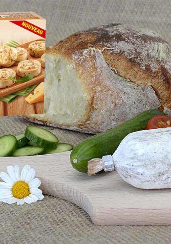 Les roulés fromagers - Entremont