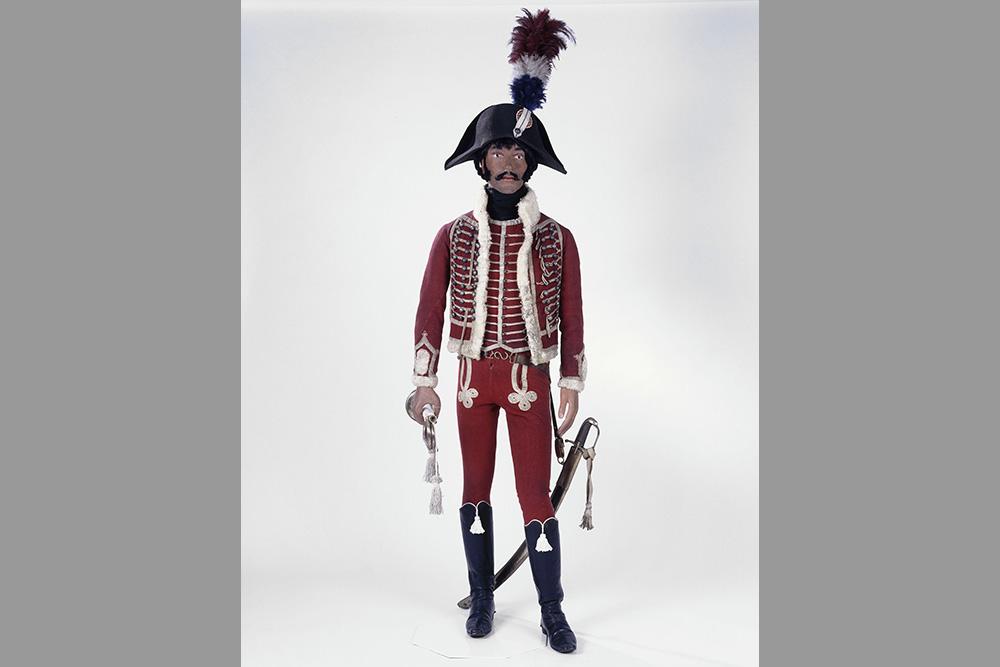Mannequin de trompette du régiment des Dromadaires © Paris-Musée de l'Armée/Pascal Segrette