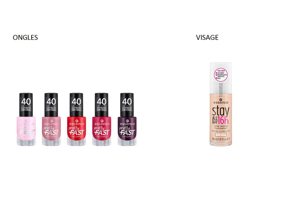 Des produits de maquillage Vegan