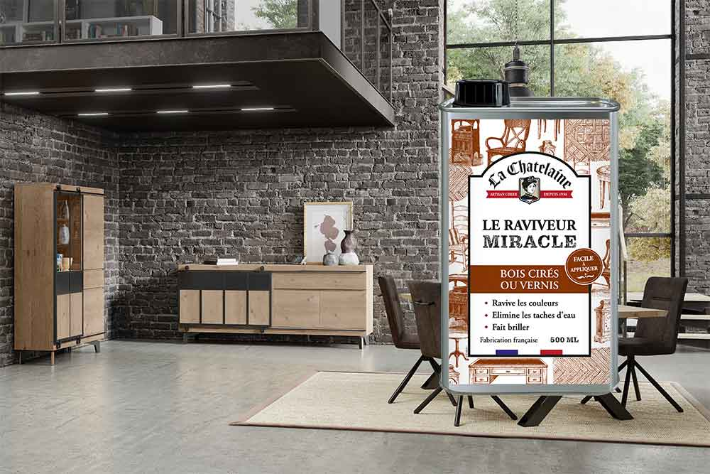 Mobilier Story et raviver miracle La Chatelaine