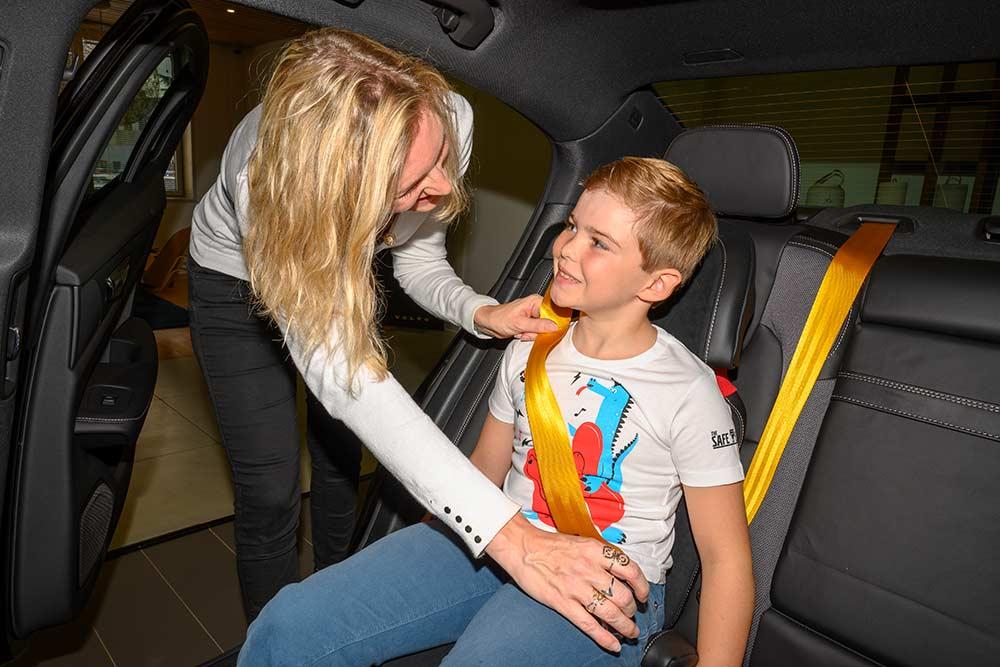 SafeTshirt : une manière ludique d'attacher sa ceinture de sécurité