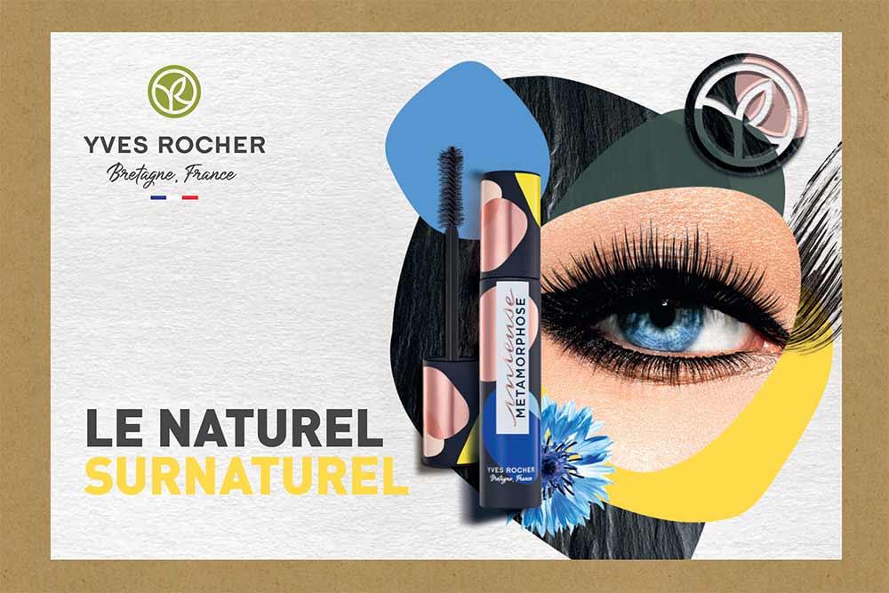 Le Naturel Surnaturel - avec le maquillage Yves Rocher