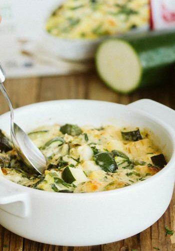 Le gratin de légumes verts