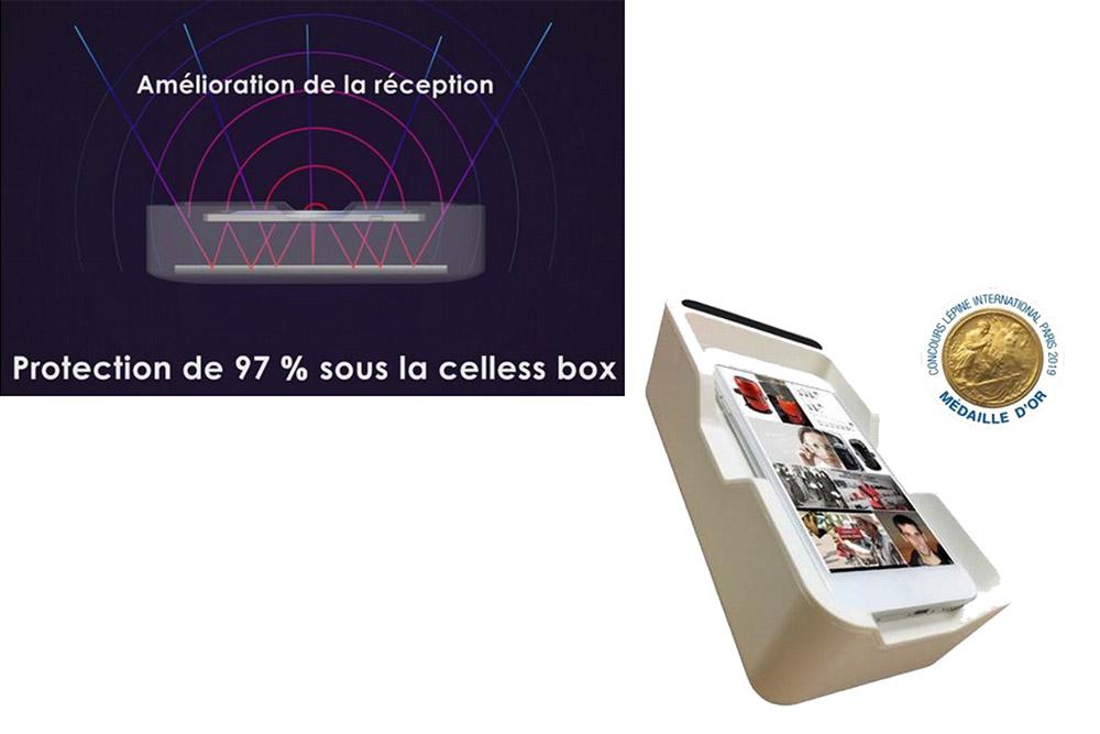 Celless Box - pour vous protéger des ondes du Smartphone