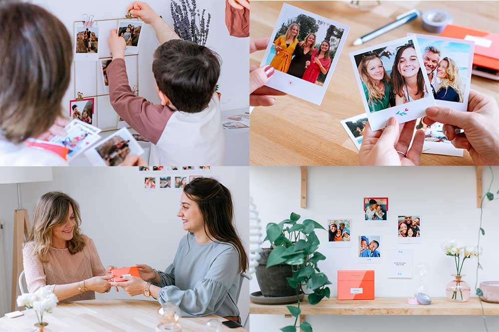 Une jolie box pour y ranger des photos de famille