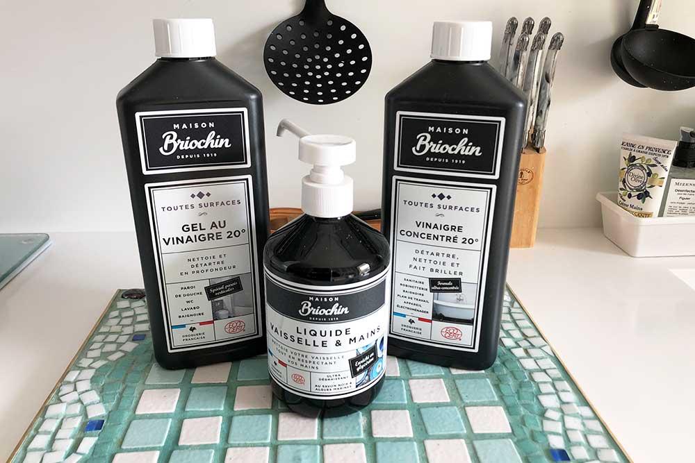 Nouveautés Maison Briochin - des produits naturels pour nettoyer votre intérieur