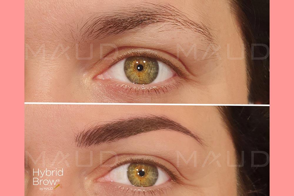 Des magnifiques sourcils avec Hybrid Brow