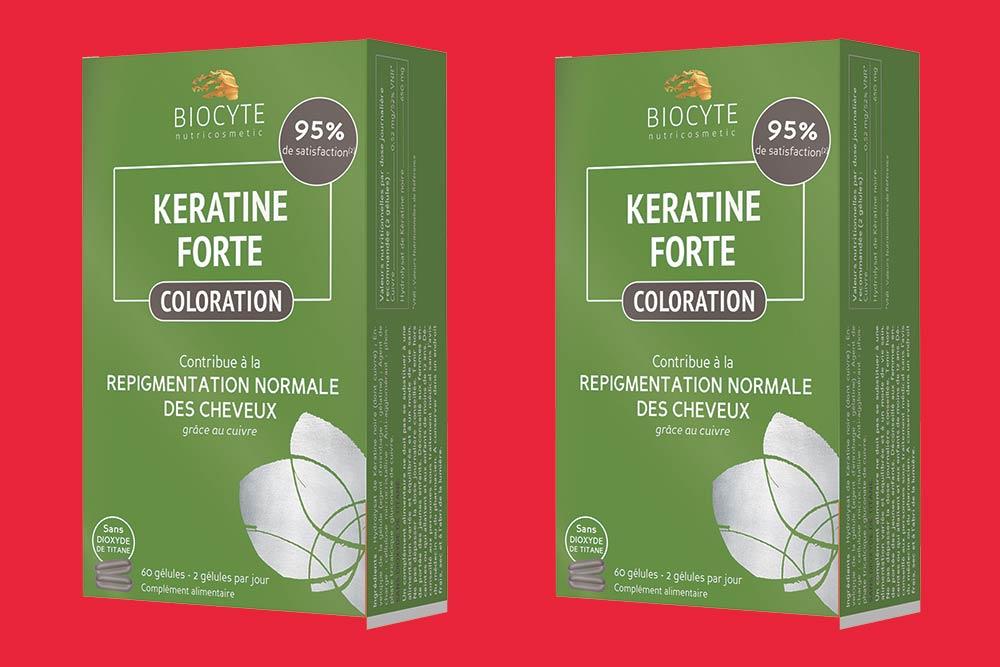 Formula Coloration de la gamme Kératine Forte de Biocyte