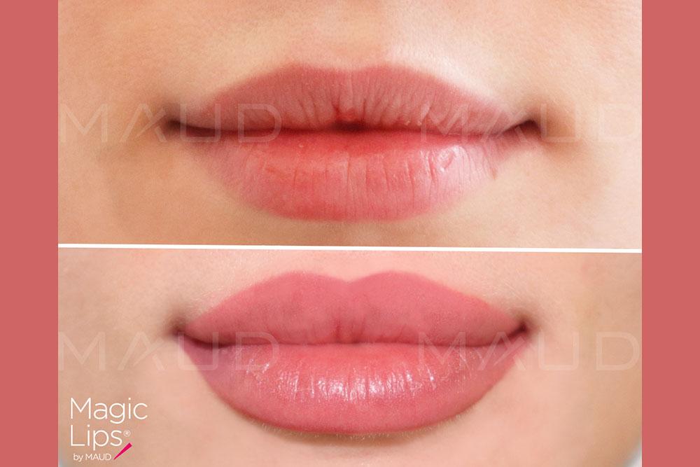 Des lèvres magnifiques avec le Magic Lips