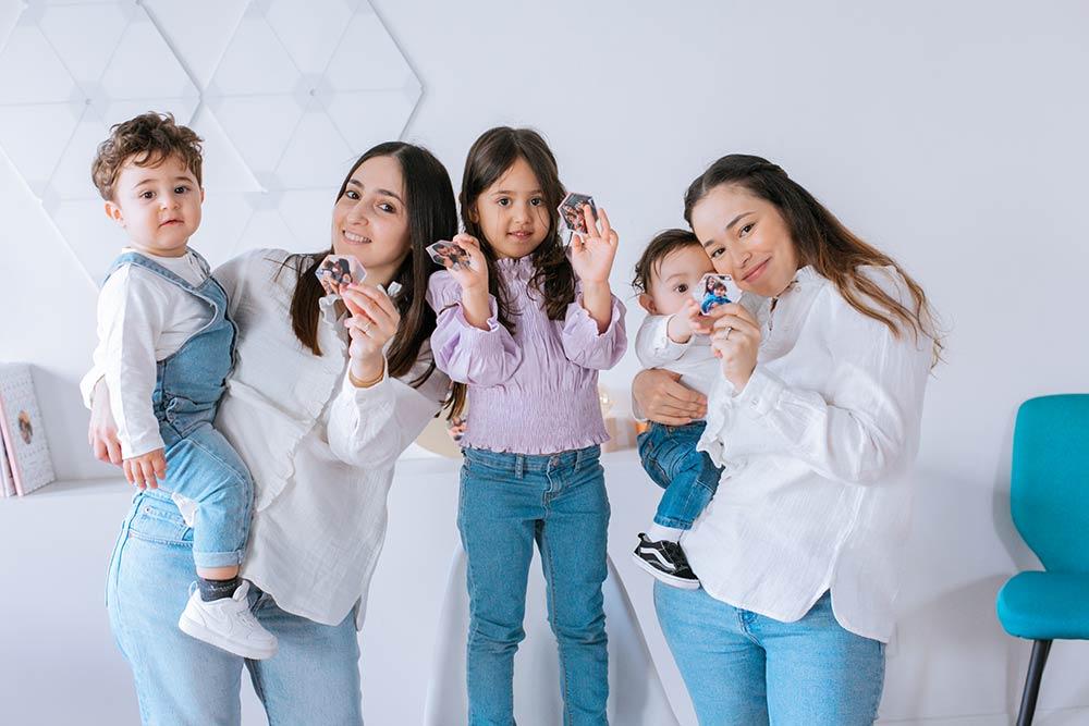 Fête des mères - Viva la Mamma : des magnets pour illustrer la vie de famille