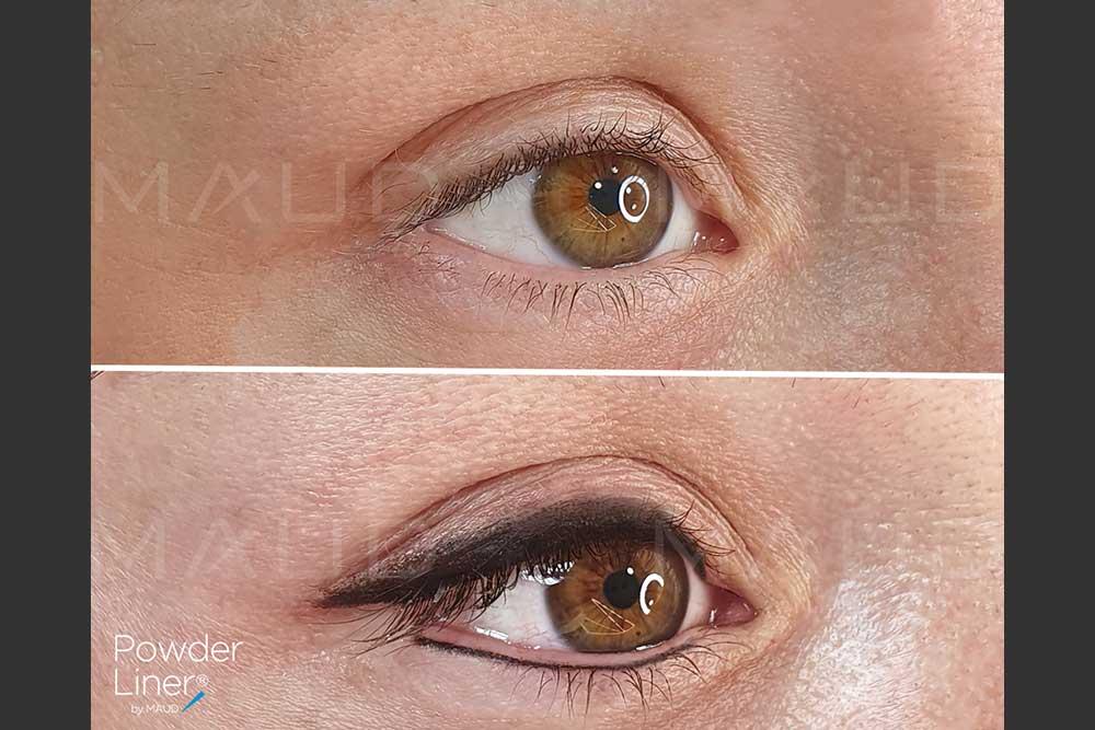 Powder Liner pour des yeux de biche