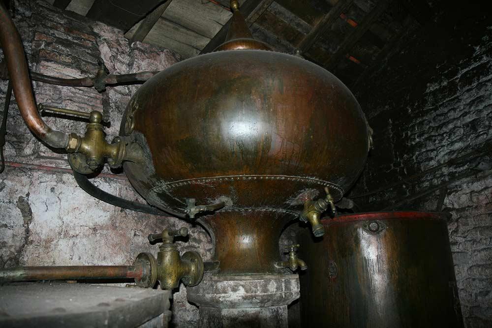 Alambic pour fabriquer le Cognac