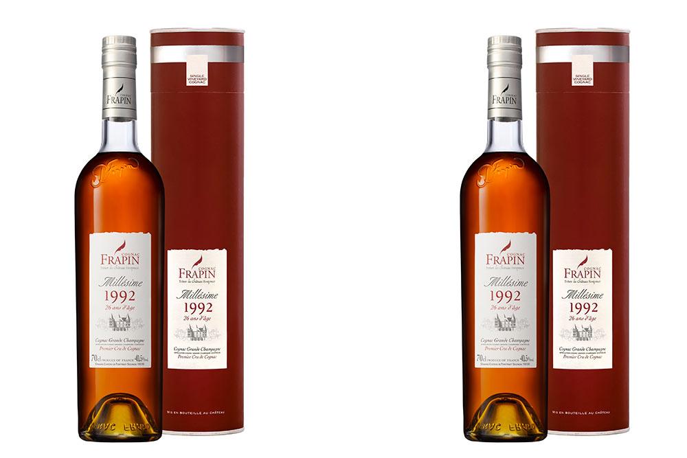 Cognacs Frapin - Millésime 1992 - 26 ans d'âge