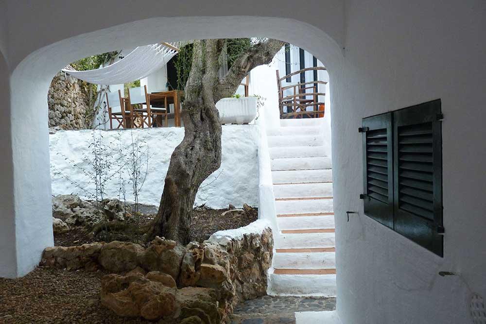 Escalier et passage