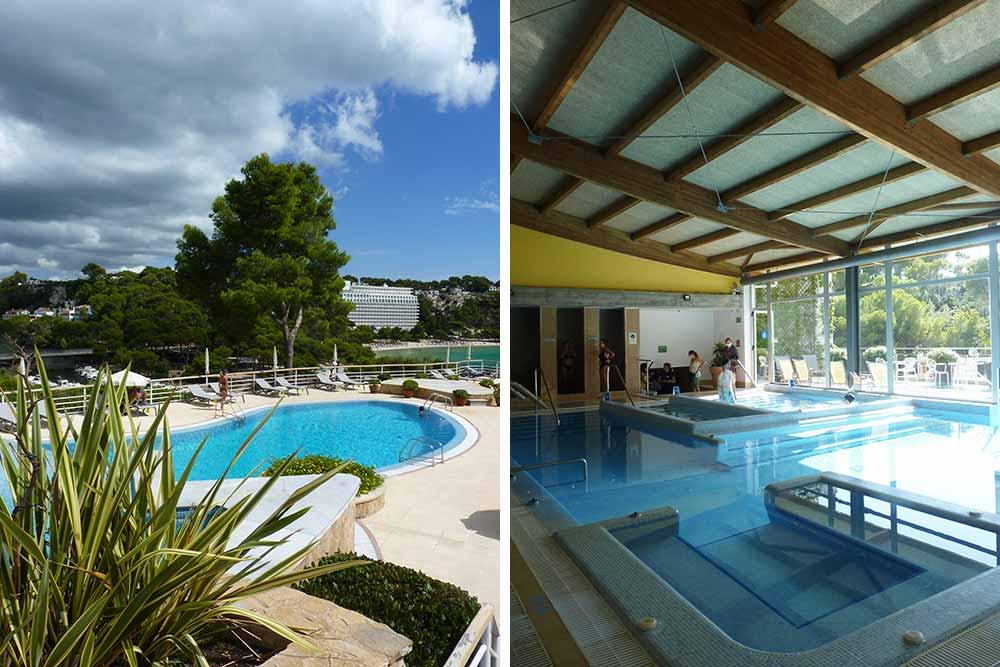 Minorque - Hotel Artiem Audax, la piscine et le spa ©Valérie Collet