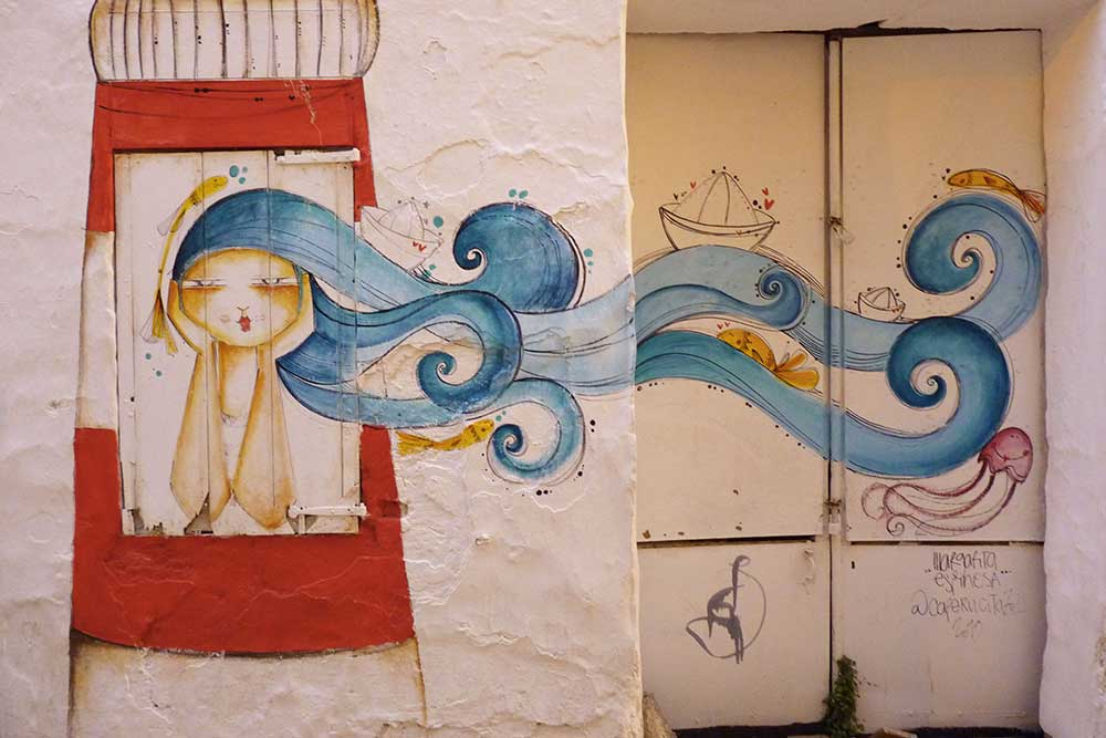 Street art à Ciutadella