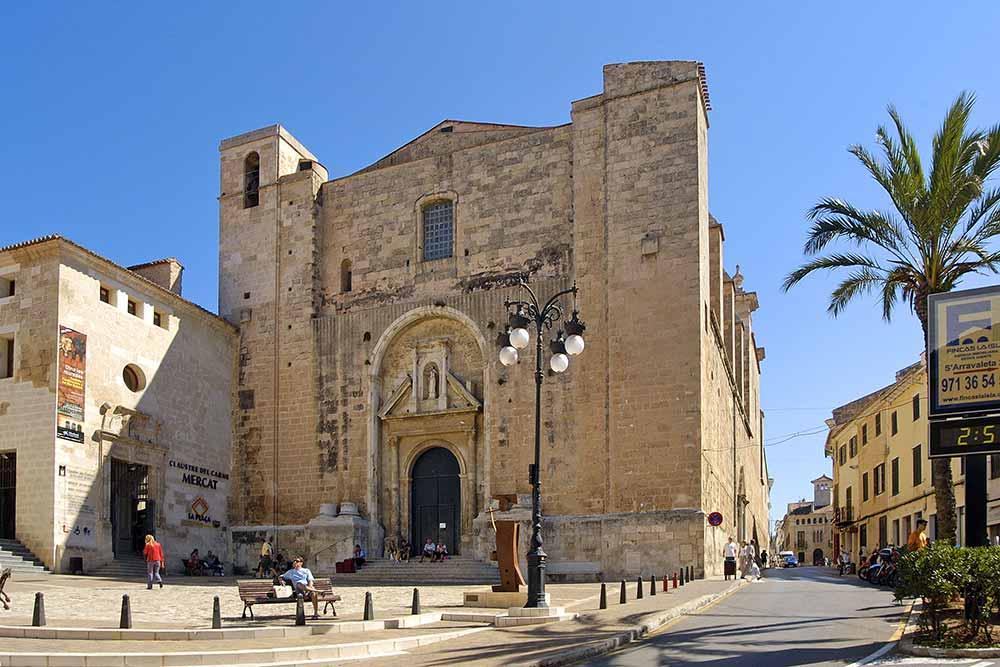 Minorque - L'église Claustre del Carme, XVIIIe s.