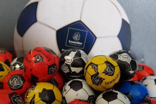 Leonidas : des petits ballons de foot en chocolat pour l'Euro !