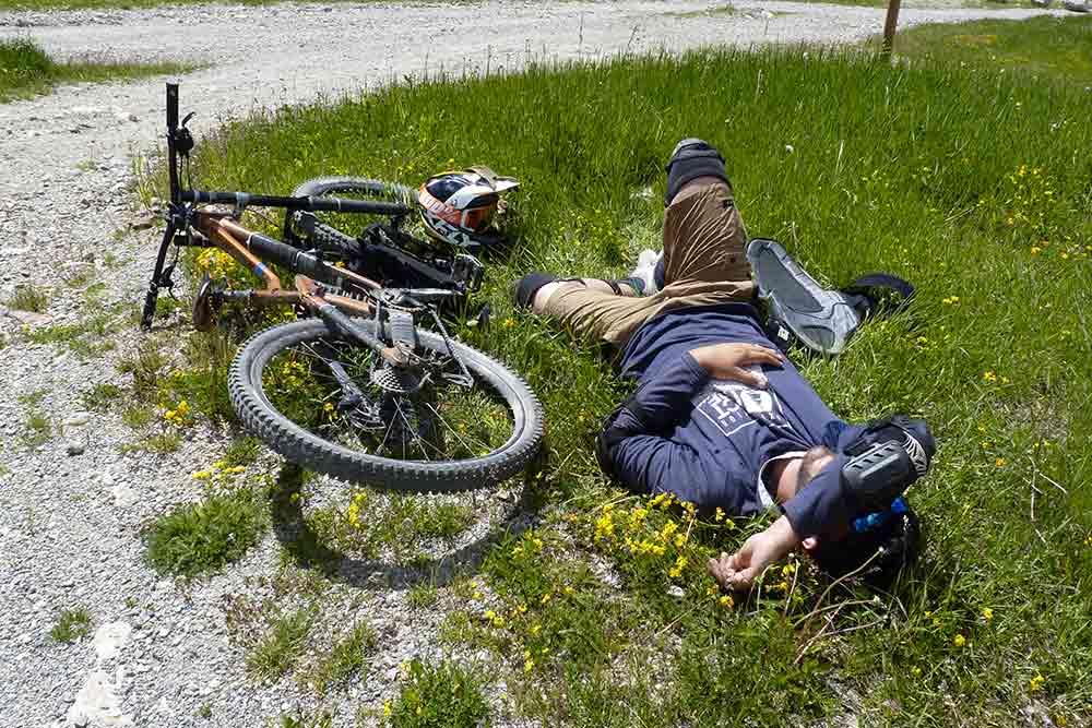 Après l'effort, la sieste…