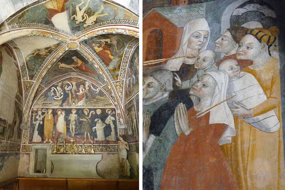 Fresques de la chapelle Saint-Sébastien