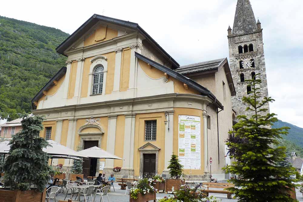 Isola - L'église paroissiale