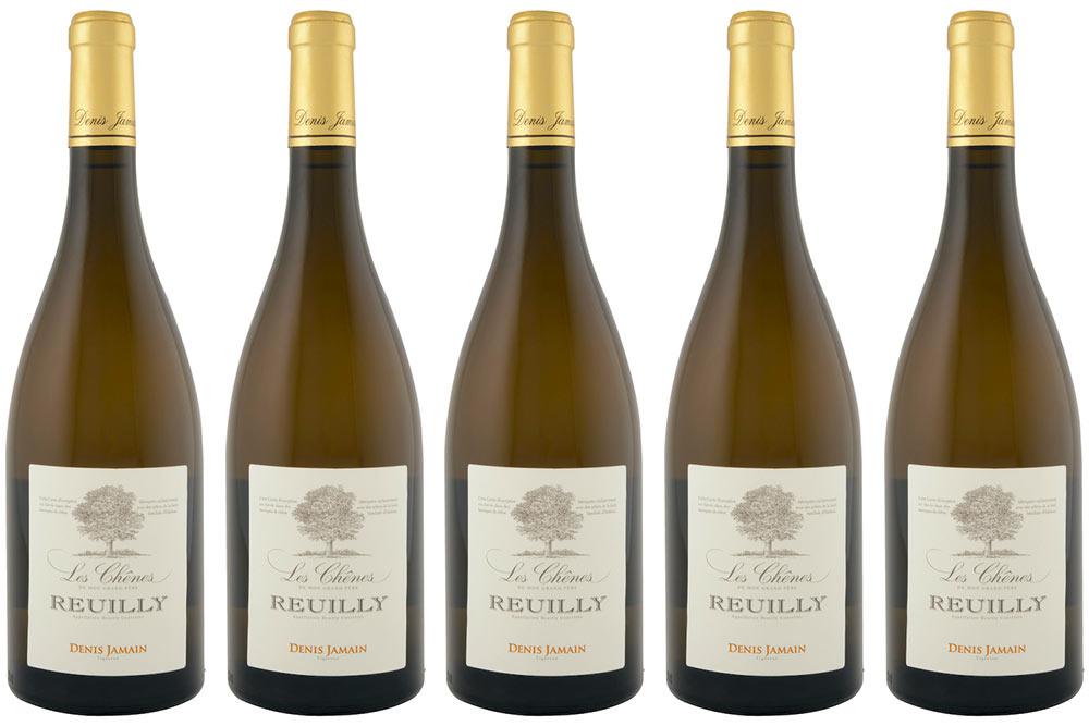 Reuilly «Les Chênes»Blanc 2018 du Domaine Jamain, un vin élaboré avec passion.