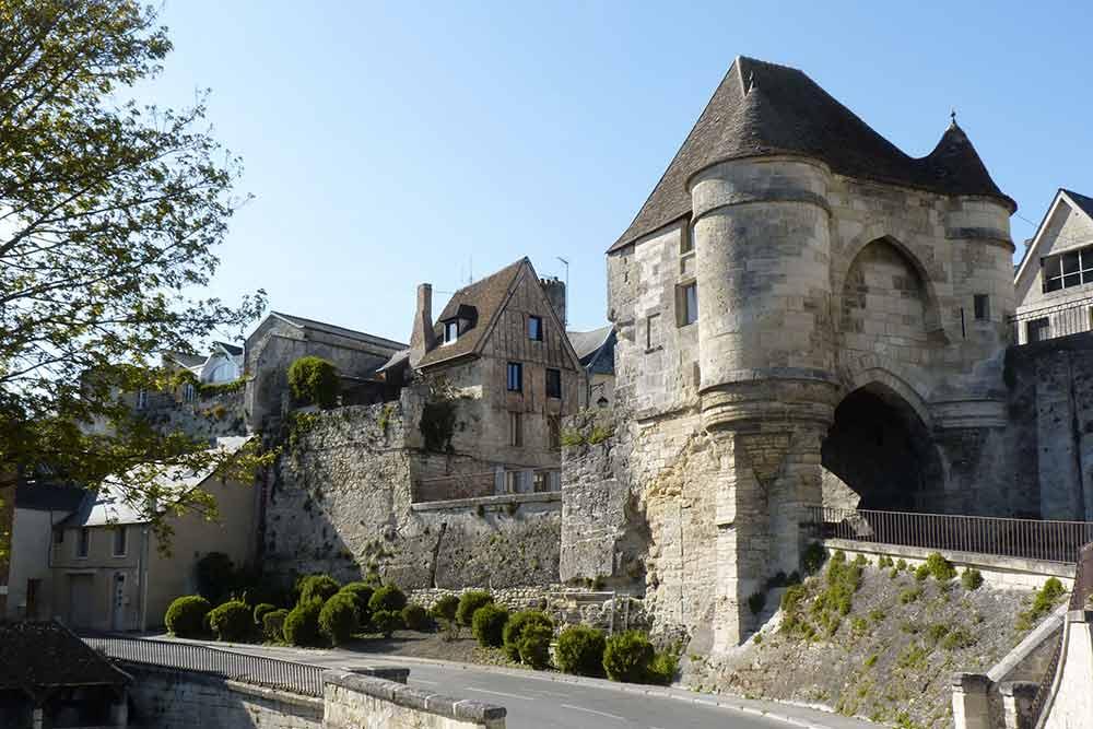 Laonnois - Ancienne portes et rempart