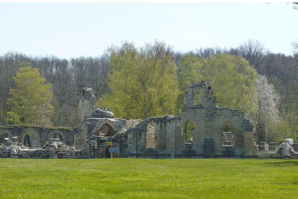 Lannois - L'Abbaye de Vauclair