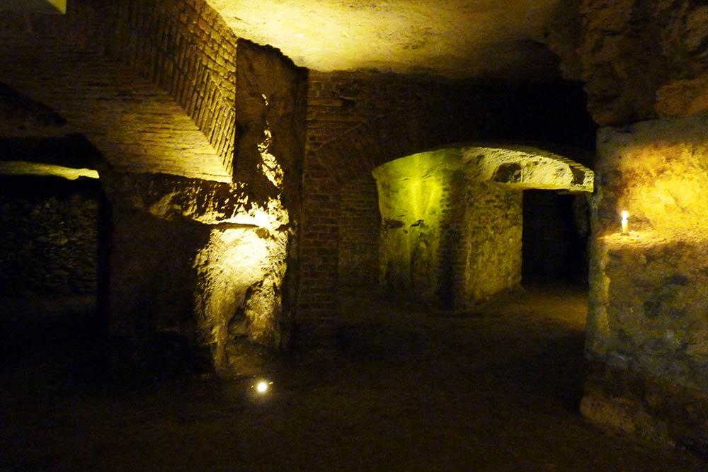 Laonnois - Intérieur des souterrains