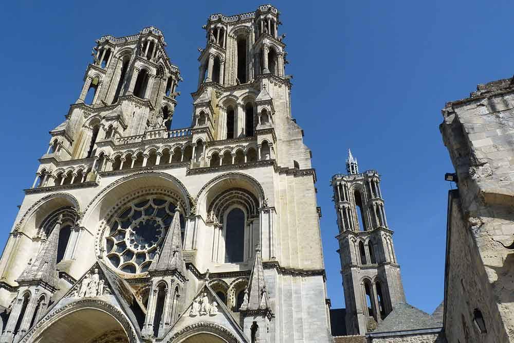Laonnois - La cathédrale
