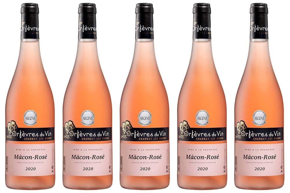 Le Mâcon Rosé des Orfèvres du Vin
