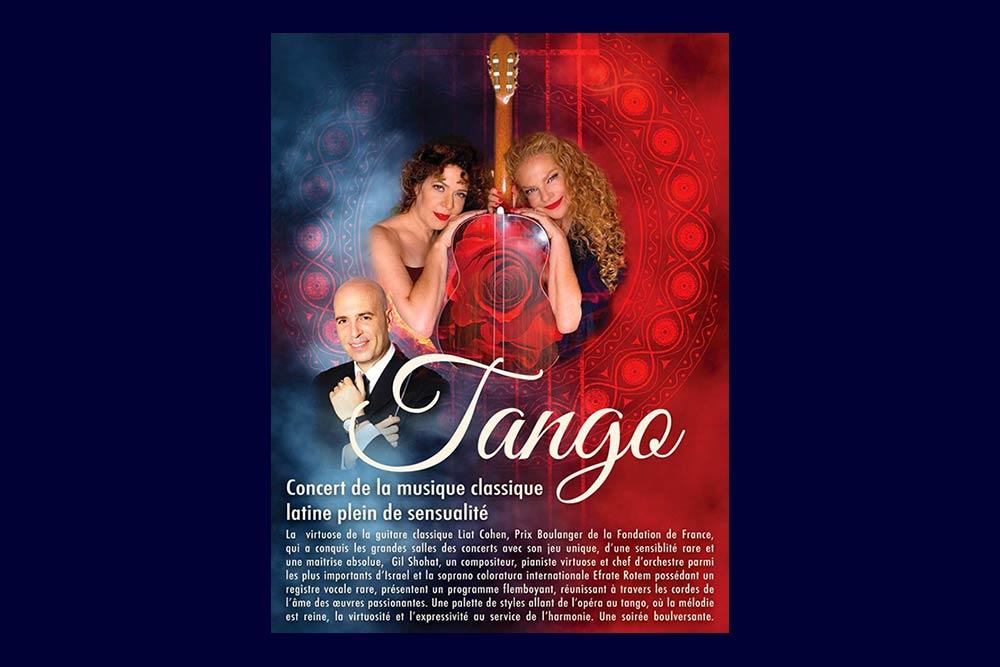 Tango Shohat : Liat-Cohen-et-Efrat-Rotem