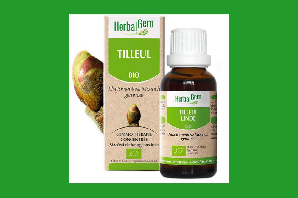 Le Tilleul bio HerbalGem favorise le sommeil