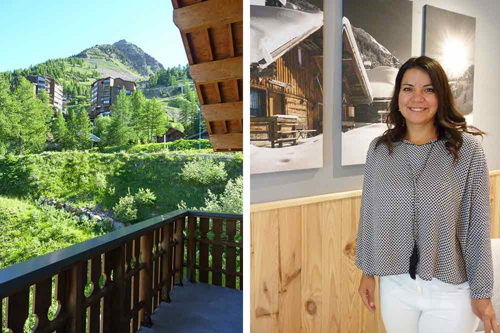 Isola - Simona Cucos, directrice de la résidence club
