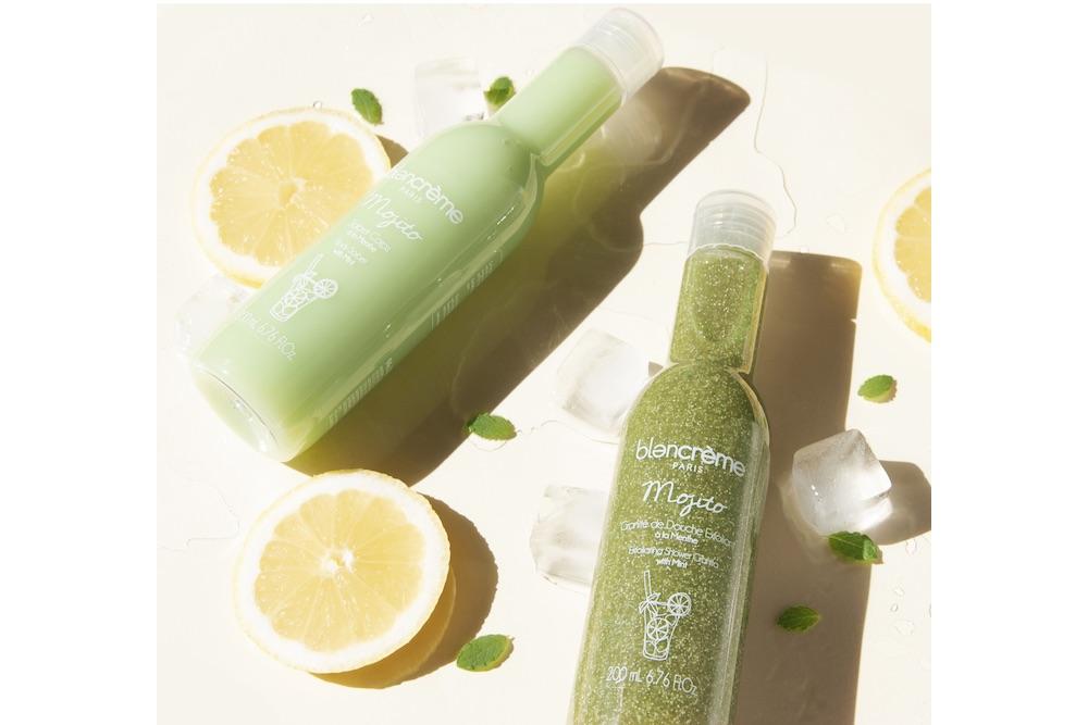 Blancrème : des granités de douche exfoliants aux parfums ultra frais