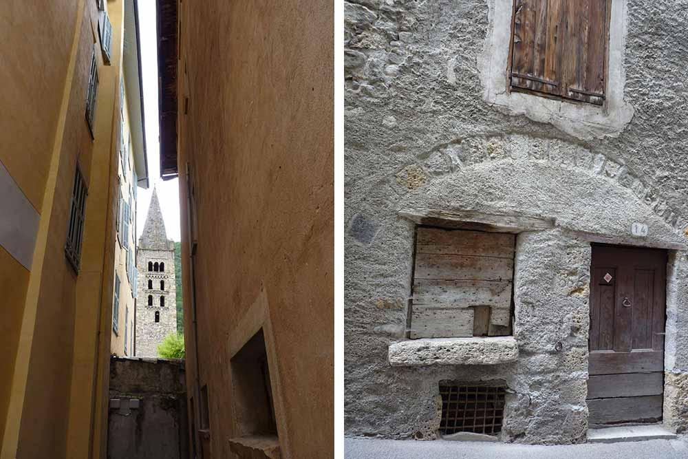 Ruelle et vieille maison