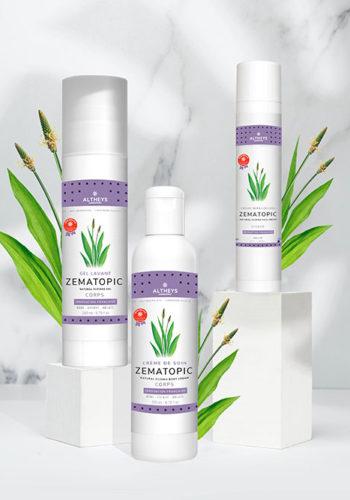 Altheys - la gamme Zematopic au petit soin de votre peau