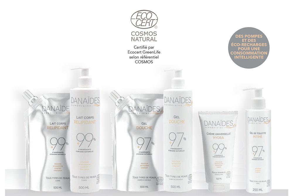 Danaïdes - des produits naturels et bons pour la peau