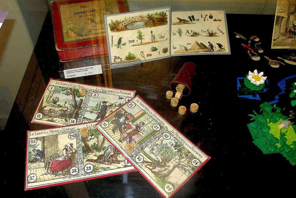 Lotos, puzzles et jeux divers, chromos XIXe s